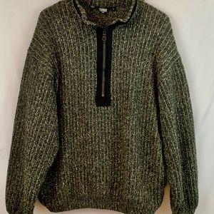 Tsunami Sport Wool Blend Pullover with Zipper